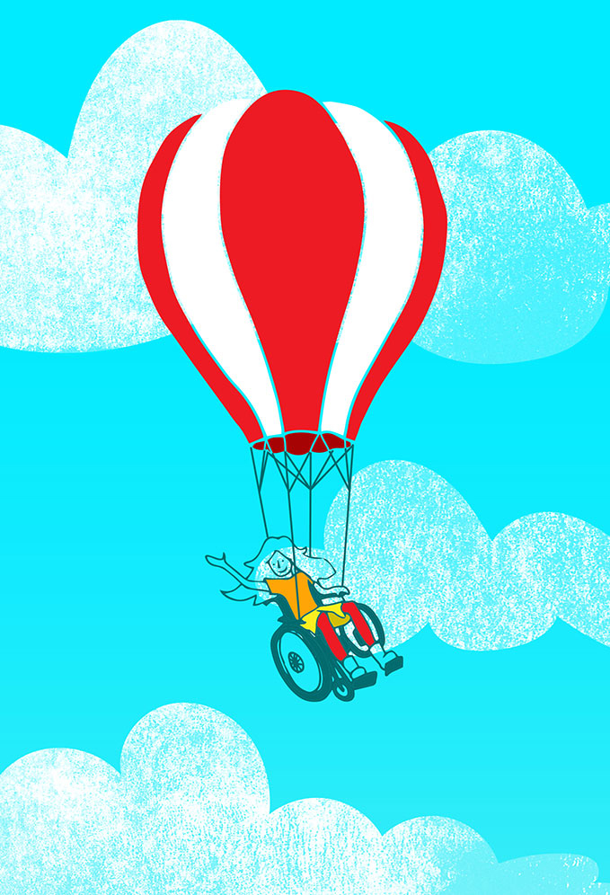 balloon illustration by Renske de Kinkelder