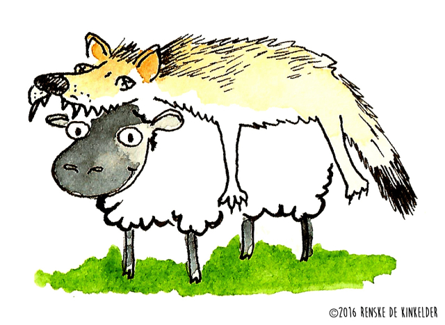 a sheep disguised as a wolf