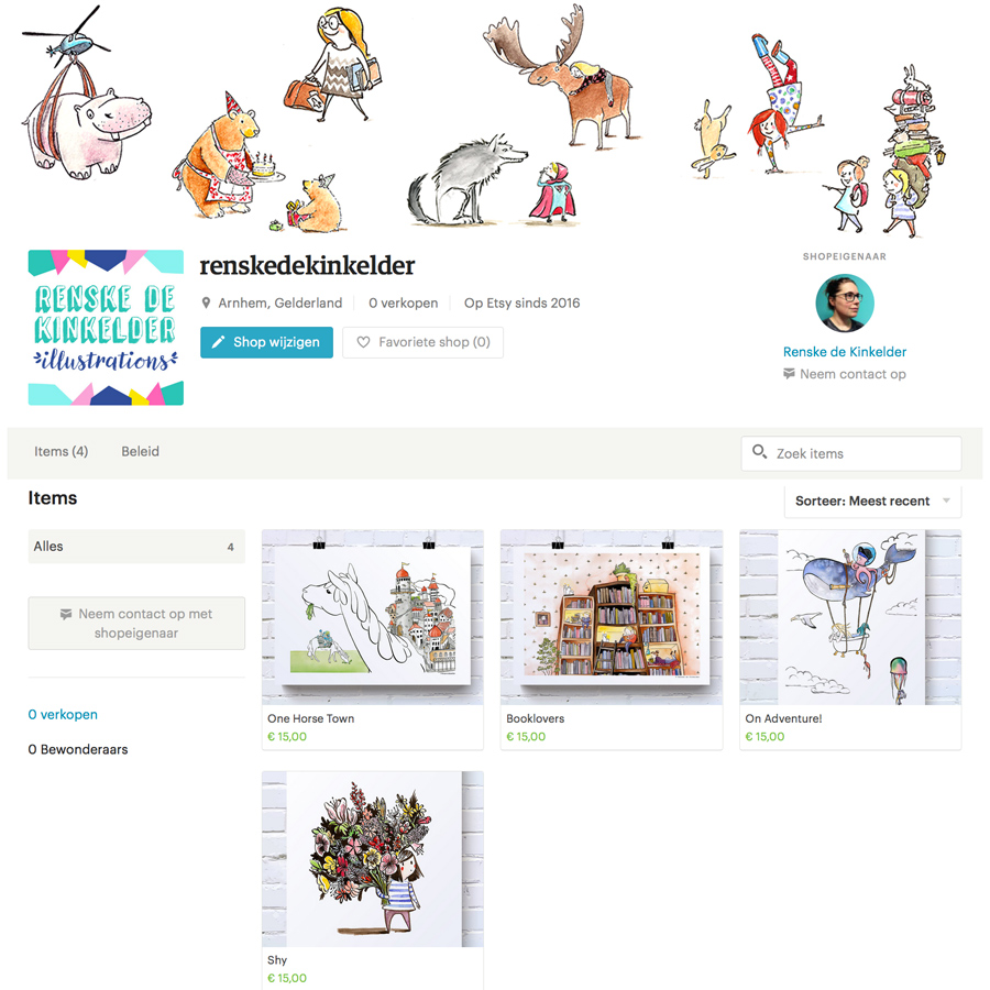 screenshot of my Etsy Shop_renskedekinkelder